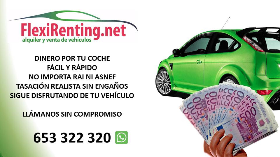 dinero por tu coche en Valencia