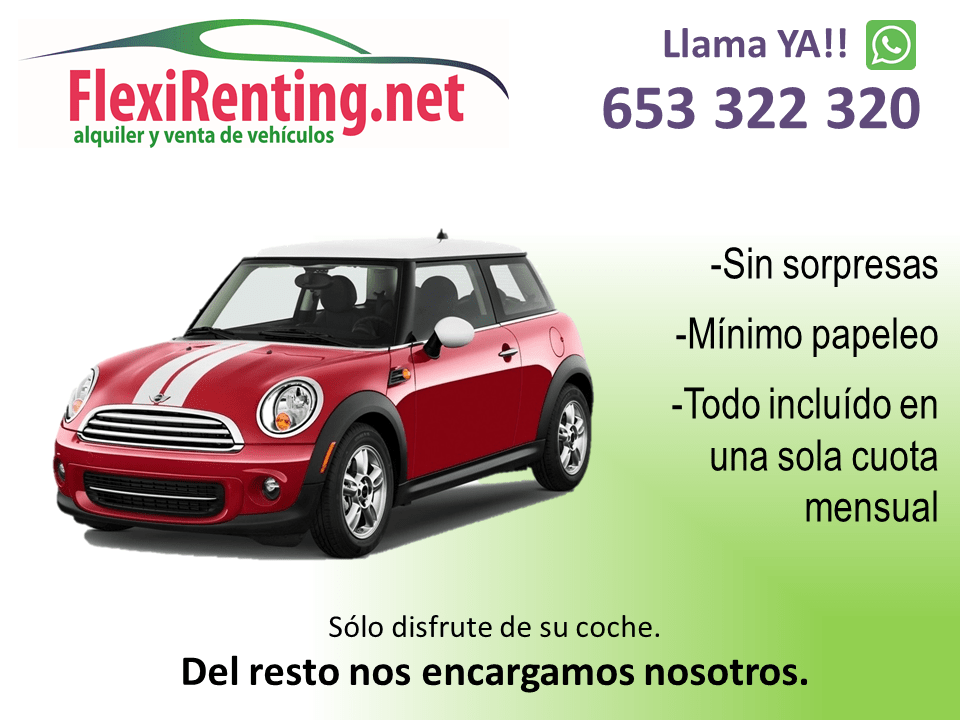 flexirenting mini en Valencia