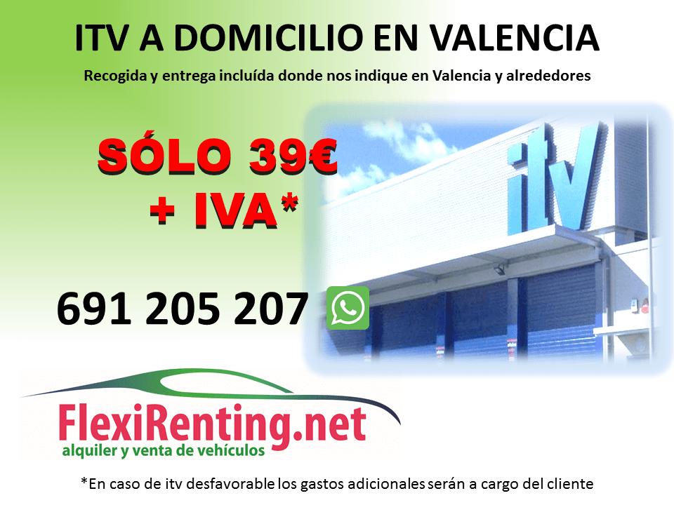 itv flexirenting VALENCIA domicilio